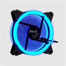Aerocool Rev Dual Ring 12cm Mavi Ledli Fan - 1