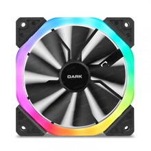 Dark 120Mm Dual Ring Addressable Rgb Fan (6Pin Bağlantı)  - 1