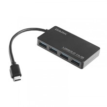 Dark Connect Master 4 Port Usb Type-C Hub U31X4 - 1