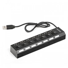 Dark Connect Master U72, 7 Port Anahtarlı USB Hub - 1