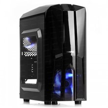 DARK F50 2x Mavi LED Fan USB3.0 Pencereli 500W M-ATX Kasa - 1