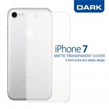 Dark iPhone 7 0,3mm Ultra İnce Mat Kılıf - 1