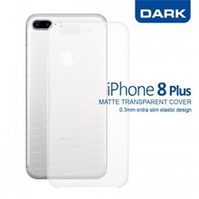 Dark iPhone 8 Plus 0,3mm Ultra İnce Mat Kılıf - 1