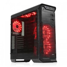 DARK N10 Advance 750W 80+ Br USB 3.0, 5x12cm Fan, Fan Kontrolcülü, Temperli Yan Cam Panel, ATX  Kasa - 1