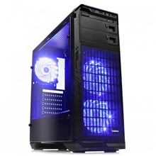 DARK N5 400W 80+ Bronze, USB 3.0, 3x12cm Fan LEDli , Full Cam Yan Panel ATX  Kasa - 1