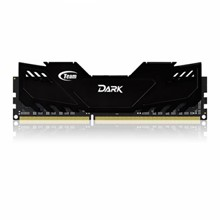 Team 16GB(2x8GB) DDR3 Overclocking Dark Series 2400MHz Gaming Soğutuculu Dual-Channel Ram Bellek (TM3D240082BLK) - 1