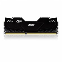 Team 8GB(2x4GB) DDR3 Overclocking Dark Series 2400MHz Gaming Soğutuculu Dual-Channel Ram Bellek (TM3D240042BLK) - 1