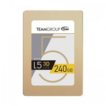"TEAM L5 LITE 3D NAND 240GB 2.5"" SATA III 7mm SSD 470MB/s-400MB/s - 1"