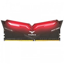 Team NIGHT HAWK 16GB 3000 MHz DDR4 Kırmızı LED Dual Kit - 8GBx2 CL16 1.35V - 1
